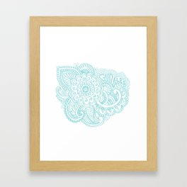 good vibes Framed Art Print
