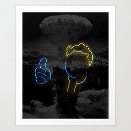 Nuclear Vault Boy Kunstdrucke