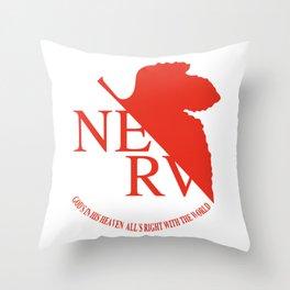 NERV Throw Pillow