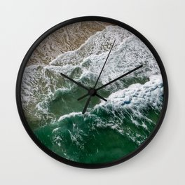 Riding high amongst the waves II Wall Clock