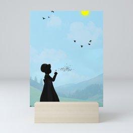 One O'Clock Mini Art Print