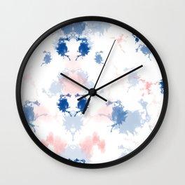 Pink Hussy Wall Clock