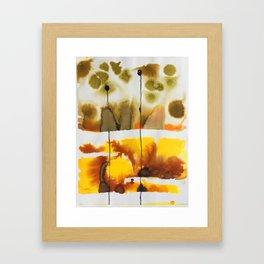 Dubious Framed Art Print