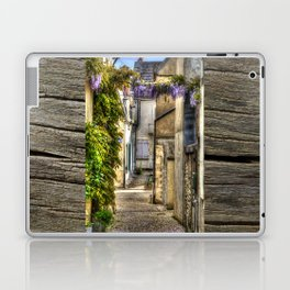 French Village Pouilly-sur-Loire in Spring, France Laptop & iPad Skin