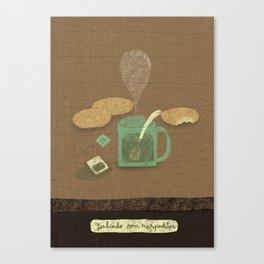 Yerbeado con raspaditas Canvas Print