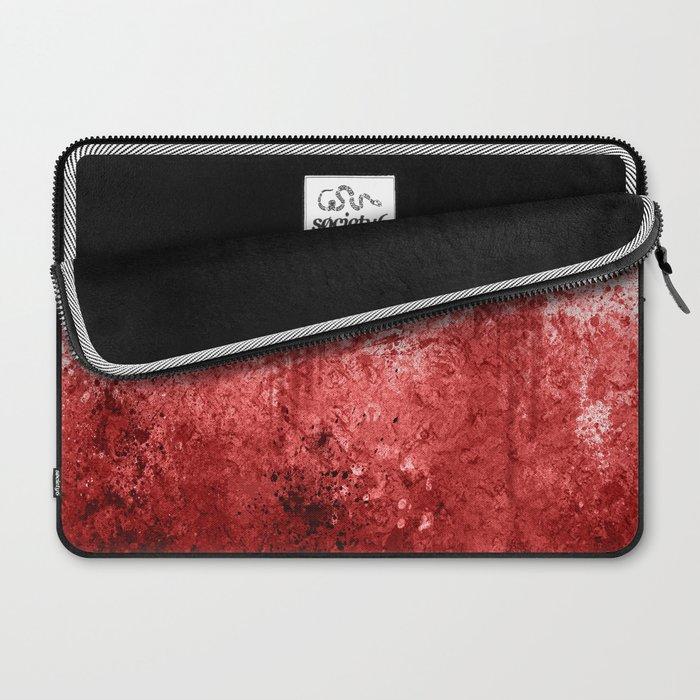 Bloody Abattoir Wall Laptop Sleeve