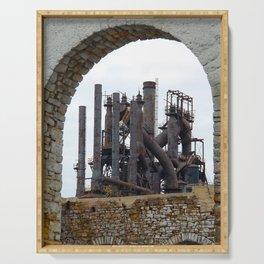 Bethlehem Steel Blast Furnace 6 Serving Tray