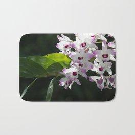 Orchid pattern Bath Mat