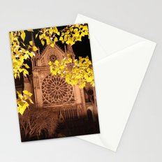 Midnight Blossoms Stationery Cards