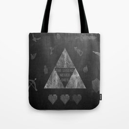 Legend of Zelda Chalkboard Tote Bag