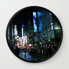 kabukicho, shinjuku, tokyo, japan Wall Clock