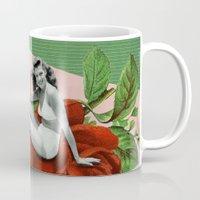 wasted rita Mugs featuring rita by Rosa Picnic