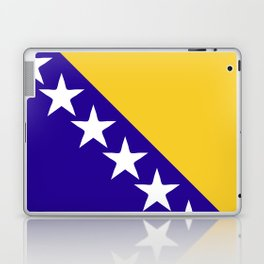 Bosnia and Herzegovina flag emblem Laptop & iPad Skin