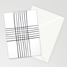 Criss Cross Stationery Cards