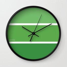 Par Four Green Wall Clock