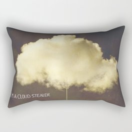 Im a cloud stealer Rectangular Pillow