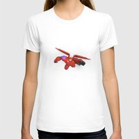 big hero 6 T-shirts featuring Baymax Big Hero 6 by ZariusArts