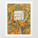 Old Marbled Paper 03 by bibliotee