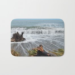 Sea and driftwood mix it up Bath Mat