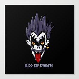 Kiss of Death Canvas Print