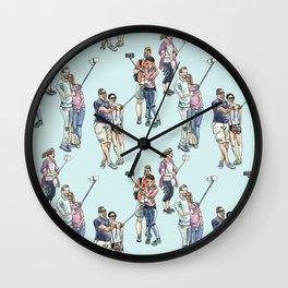 Selfies Wall Clock