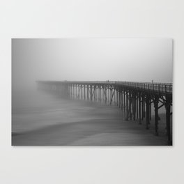 Stretchy Pier Canvas Print