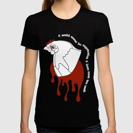 i could never be vegetarian: part i T-shirt