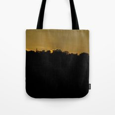 in silence i await... Tote Bag