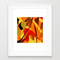 spice Framed Art Prints featuring pumpkin spice by David Mark Lane