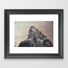 Extersteine Framed Art Print