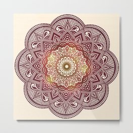 Decoration Geometric form Metal Print