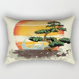 Sun down Rectangular Pillow