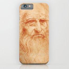 "Leonardo da Vinci ""Self-portrait in 1512"" iPhone Case"