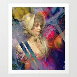 Buttermilk Lace Art Print