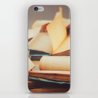 books iPhone & iPod Skins featuring Books by Nina's clicks
