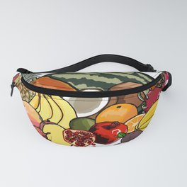 Bounty of Tropical Fruit Fanny Pack