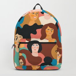 CUTE ALL-OVER WOMENS MARCH PATTERN Backpack