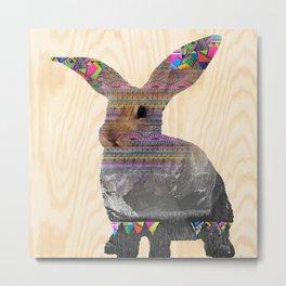 Rabbit  Metal Print