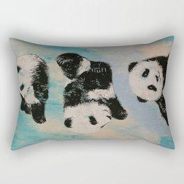 Panda Karate Rectangular Pillow