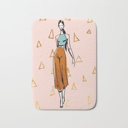 Fashion Boss Bath Mat