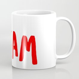 Dream in Red Coffee Mug