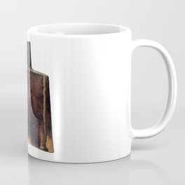Photograph of Square Vase, Ceramic Art by Rostislav Eismont of Whipple Hill Art Collective Coffee Mug