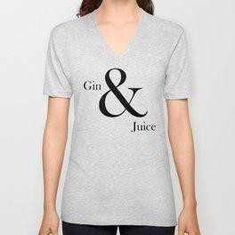 GIN & JUICE #2 Unisex V-Neck