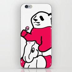 Ice Cream Panda iPhone & iPod Skin