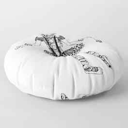 Clownerina Floor Pillow