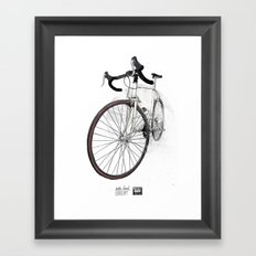 Steel Is Real Framed Art Print
