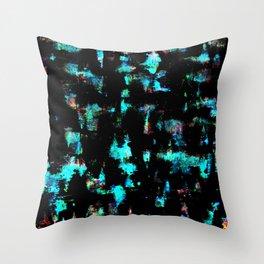 bioluminescent Throw Pillow