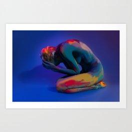 Depth of Emotions Art Print