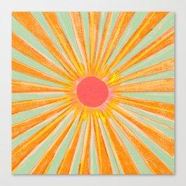 Sun In The Sky 2 Canvas Print