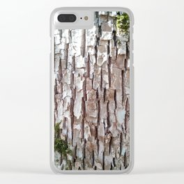 Bark Clear iPhone Case